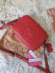 Bolsa Gucci Modelo Soho Disco Vermelha *Últimas!!!