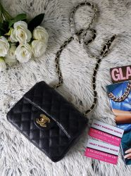 Bolsa Modelo Chanel Classic Caviar