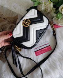 Bolsa Modelo Gucci Marmont P&B M *Oferta Relâmpago