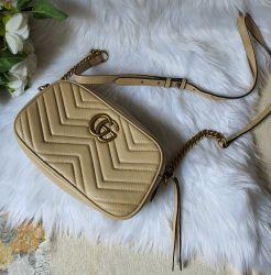 Bolsa Modelo Gucci Marmont Bege *Oferta!