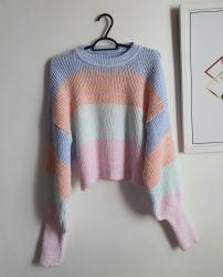 Blusa Tricot Mousse Rainbow